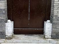 四合院宅门的门礅