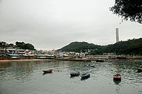 香港南丫岛海鲜店群
