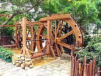 深圳民俗村 水车