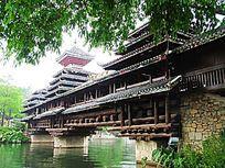 深圳民俗文化村 风雨桥