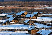 宁静的山村