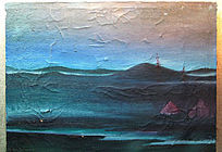 已故鄂温克女画家柳芭绘画