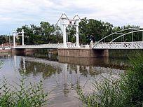 吊桥公园铁索桥