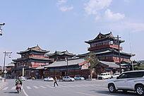 古代风格的楼群