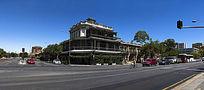 澳洲阿德莱德城市街头景象