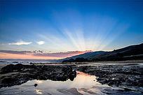 澳洲大洋路海滩日出美景
