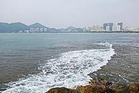 三亚大东海海滨风光