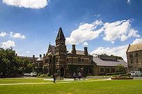 澳洲墨尔本大学校园建筑楼