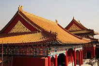 故宫精美的古典建筑皇宫