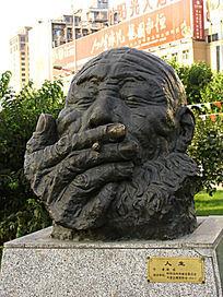 呼和浩特人物雕塑《人生》