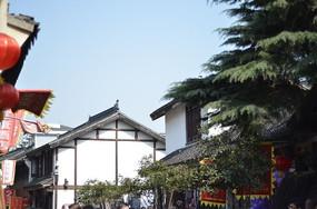 南翔古镇的蓝天