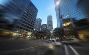 悉尼街头夜景
