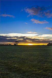 澳洲袋鼠岛日落日出自然风光