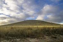 澳洲袋鼠岛山坡草坪风光