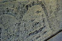 汉代捉鱼石雕画