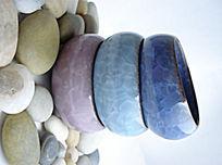 创意鹅卵石陶瓷组合