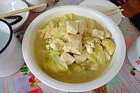 大兴安岭白菜炖豆腐