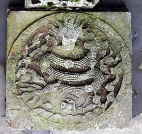 弘福寺石刻雕龙