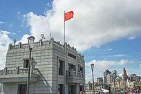 上海黄浦江江边建筑
