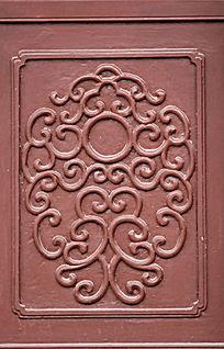 翠微园门窗木雕图案