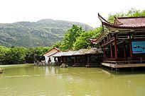 贵州安顺天星湖古典建筑