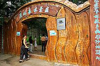大青沟原始森林入口