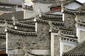 湖南湘西凤凰古城古建筑外观图片