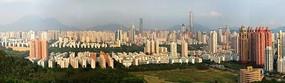 从莲花山欣赏深圳全景