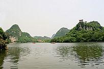 柳州大龙潭优美自然风光