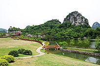 柳州龙潭优美的自然风光