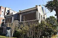 现代社区的古典别墅