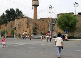 榆林古城墙人文风光
