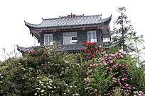 百里杜鹃风景区阁楼建筑
