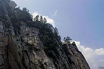 华山石峰云景