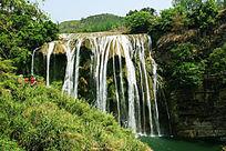 美丽的黄果树瀑布