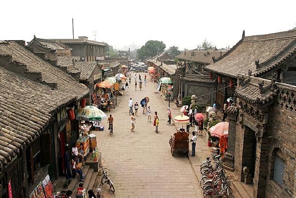 平遥明清县城街景