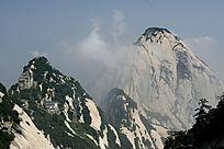 西岳华山云雾风光