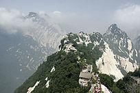 西岳华山云雾奇峰