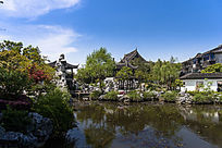 木渎虹饮山房园林景观
