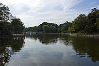 青岛中山公园游湖的地方