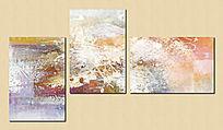客厅背景组合油画