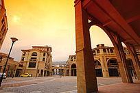 八十步海寓欧式建筑风景