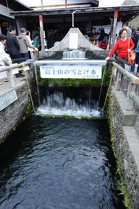 富士山水源头