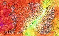 色彩油画背景