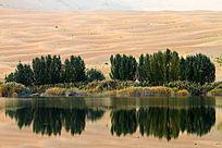 巴丹吉林沙湖地理风光
