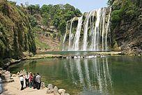 黄果树瀑布游客