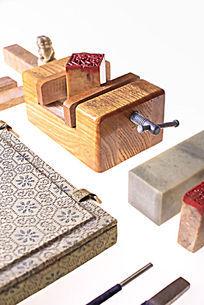 印床和篆刻工具