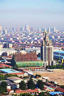俯瞰城市建筑