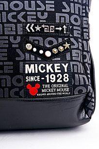 高档米奇背包细节展示
