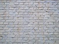 刷上涂料的砖墙